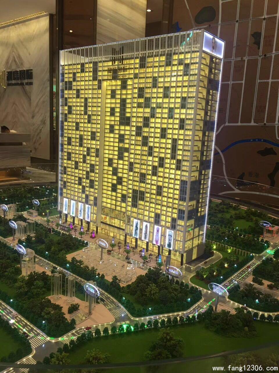 <b>罗湖小产权房《罗湖国际》三地铁口旁160万买大两房精装交房</b>