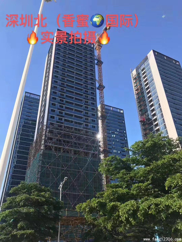 塘厦小产权房《香蜜国际》5栋1280户高端花园小区在建高铁站