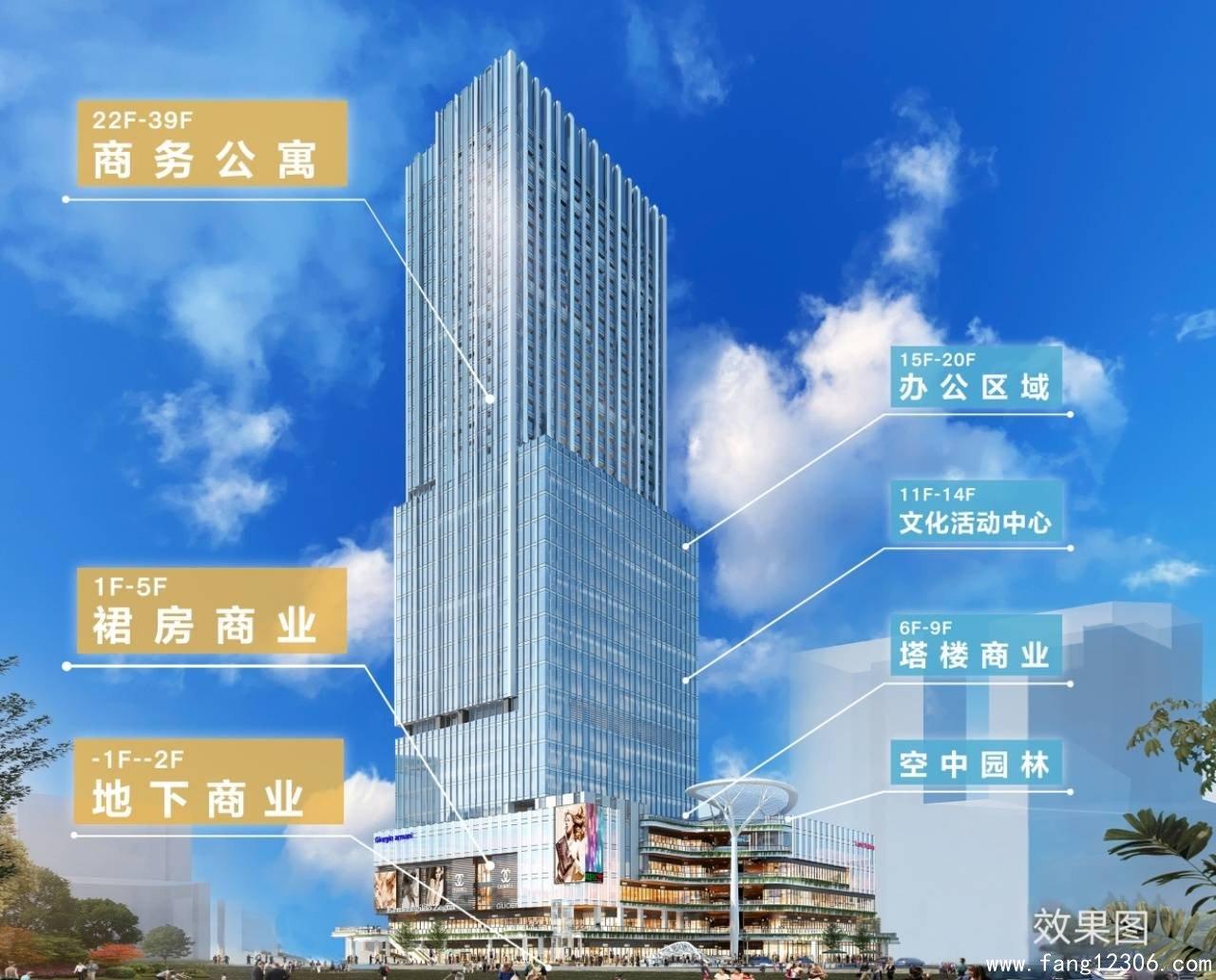 <b>深圳福田恒大公寓《�B睿大厦》强势进驻华强北商圈B2层地铁直通</b>
