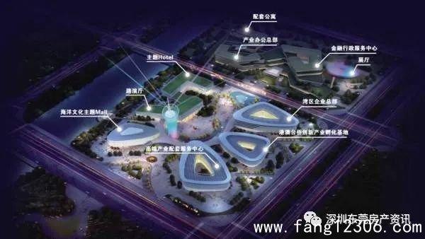 滨海湾新区规划高度,东莞罕见,新一波的投资高潮在这里