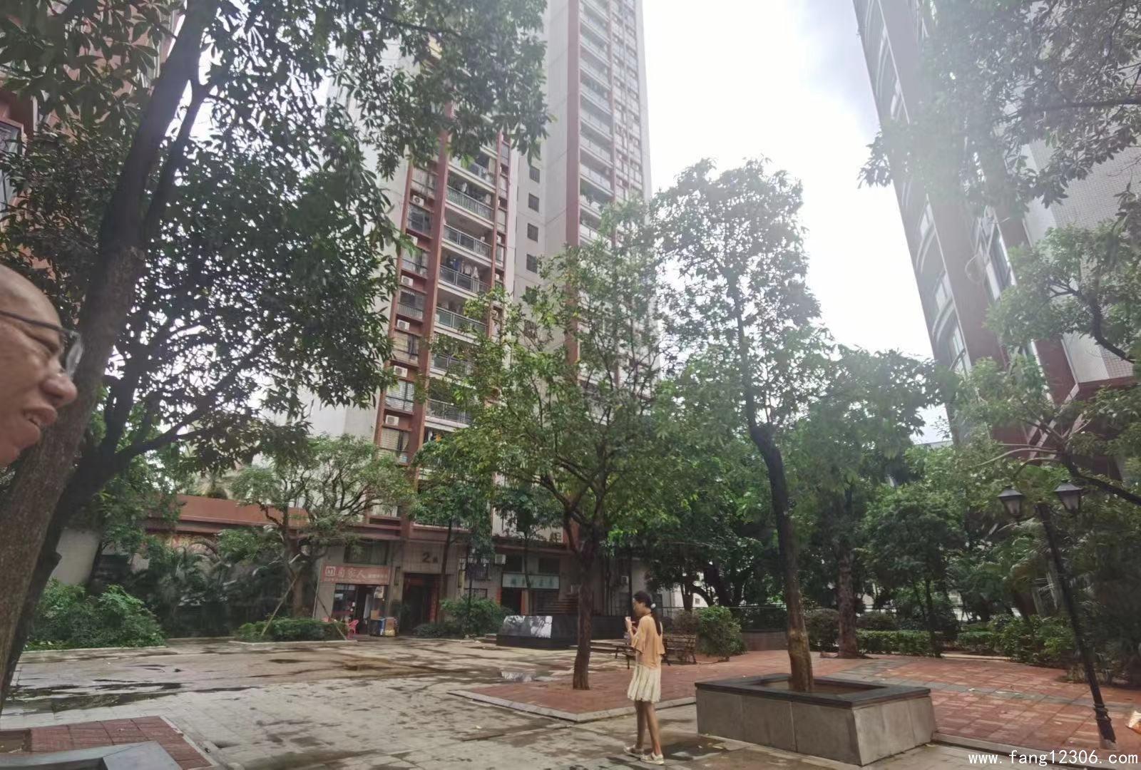 <b>长安4栋花园统建楼【鸿锦花园】地铁口,带车库天然气</b>